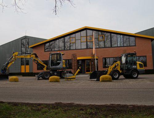 Uitbreiding machinepark
