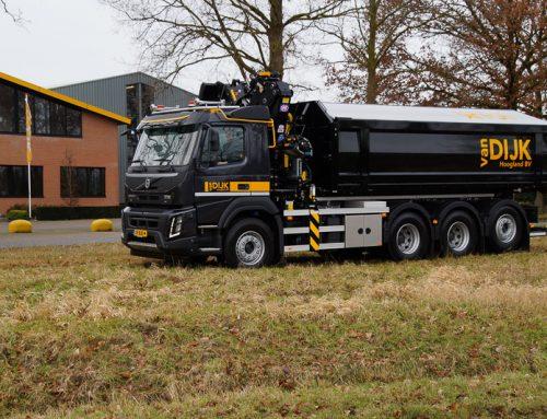 Autolaadkraan Volvo FMX 8×4