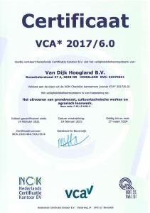 VCA Certificaat 19-02-2021 t/m 27-03-2024